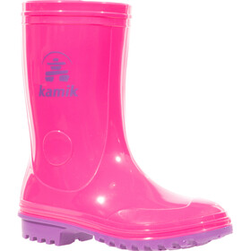 Kamik Pebbles Bottes en caoutchouc Enfant, pink